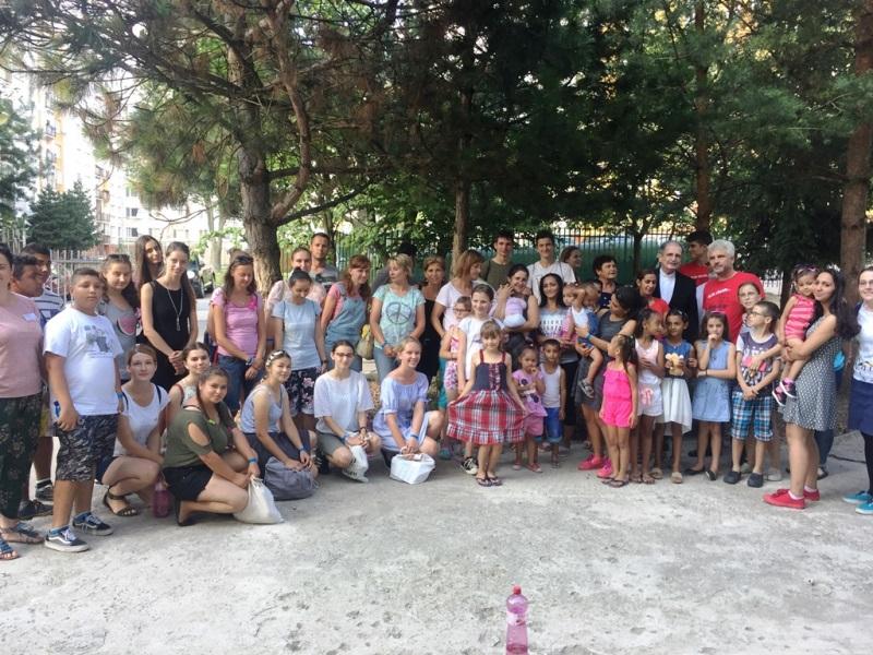Otec arcibiskup Zvolenský navštívil krízové centrum pre rodiny v núdzi  v Prešove