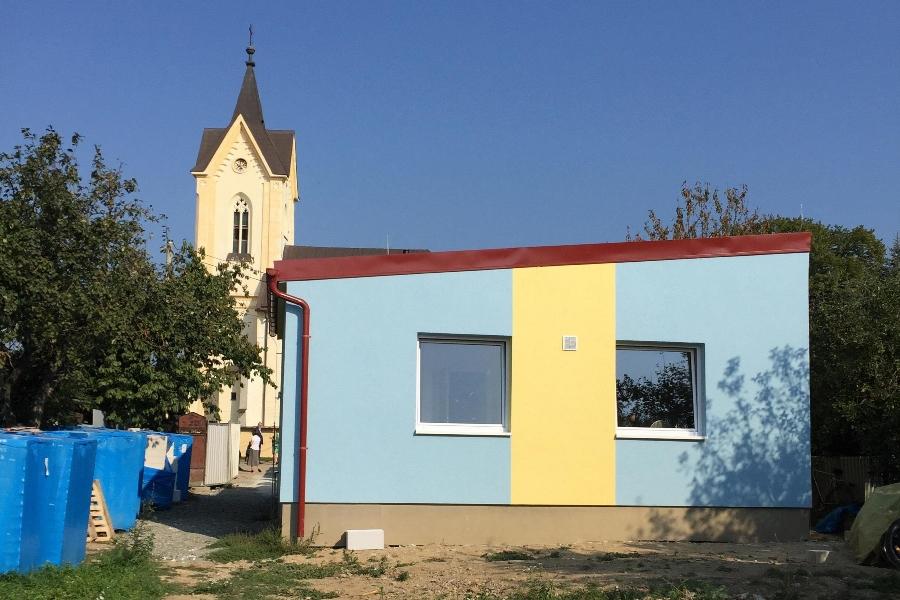 Dokončená prvá časť centra pomoci, ktorú sme dnes slávnostne otvorili