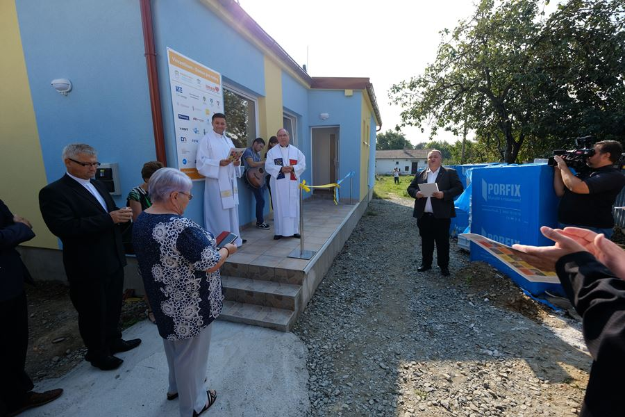 Otvorili sme prvú časť centra pomoci deťom a rodinám v núdzi na periférii mesta Košice