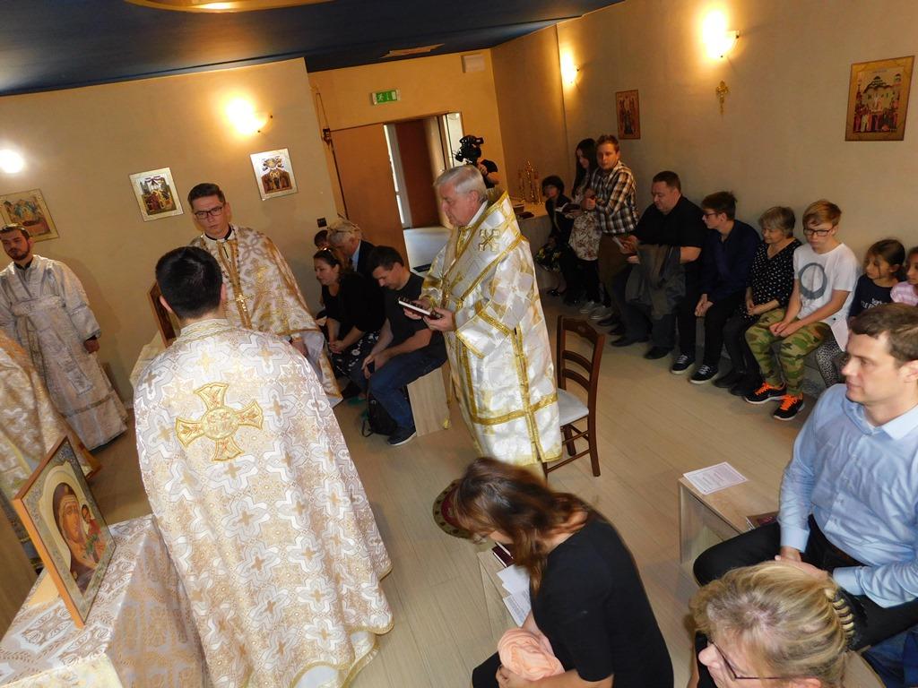 Požehnanie nového bohostánku na prešovskej Dorke