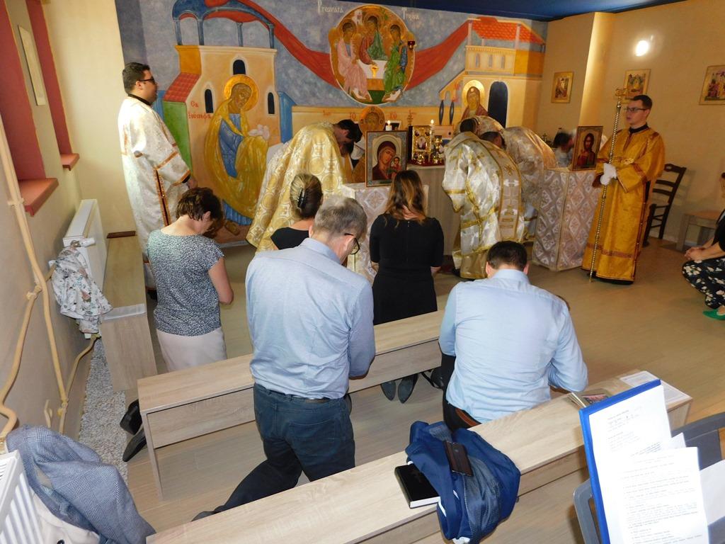 V krízovom centre Dorka v Prešove máme nádhernú kaplnku už aj s bohostánkom