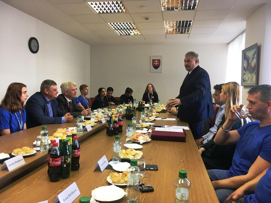 Minister oceňoval detských športovcov