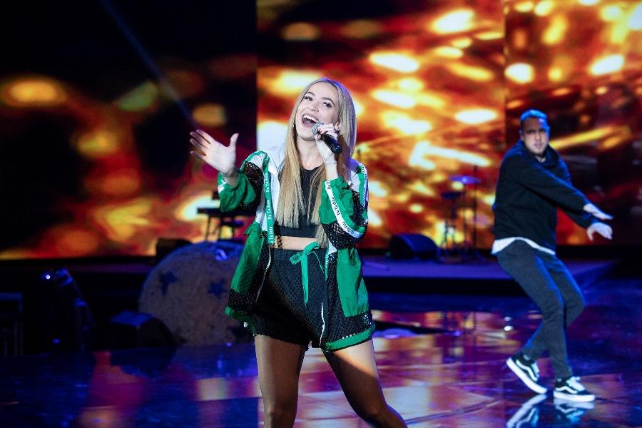 Vianočnú náladu si na koncerte Úsmevákov užila aj Dominika Mirgová