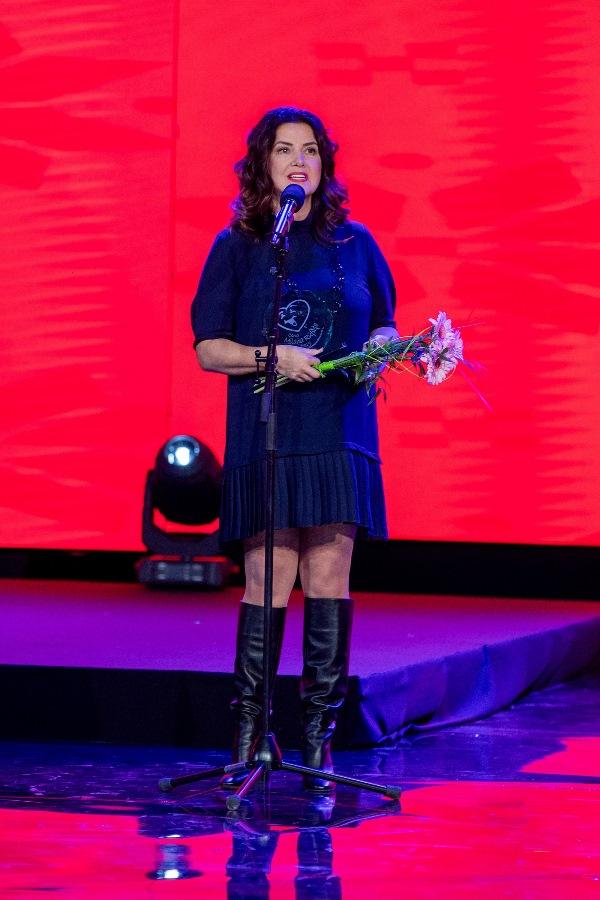 Ocenenie Milana Rúfusa si od Úsmevákov tento rok z vianočného benefičného koncertu odniesla aj Iveta Malachovská