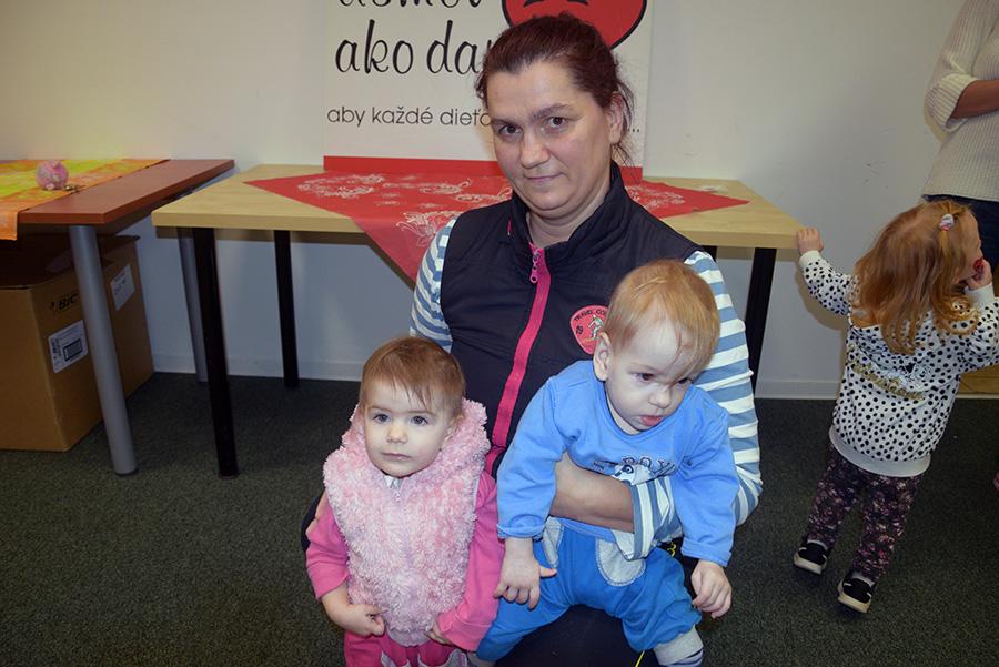 Pomoc rodinám v núdzi