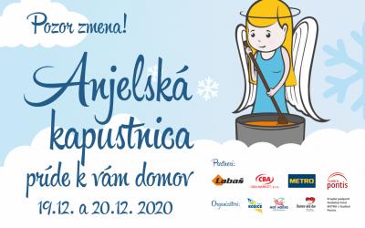 Anjelská kapustnica 2020 v Košiciach predsa len bude – pozor zmena!