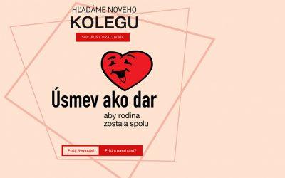 Pracovník KC v Ružomberku – Oznam o výberovom konaní